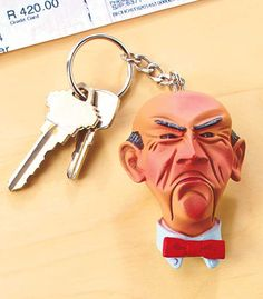 Jeff Dunham Talking Key Chains