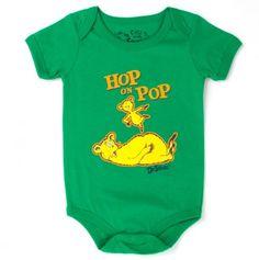 hop on pop onesie