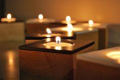 Domino tealight cande holders. www.dsgnsquare.com/domino www.facebook.com/designdomino