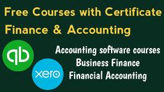 Free Certificate Courses, Online Courses With Certificates, Accounting Certificate, Accounting Course, Small Business Accounting, Job Cover Letter, Medical Billing And Coding, Online College Degrees, Free Education
