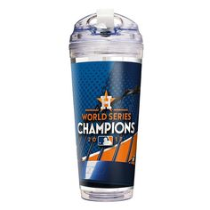 Great American Products Officially Licensed MLB World Series Champ 2017 24 oz. Acrylic Travel Tumbler - Astros