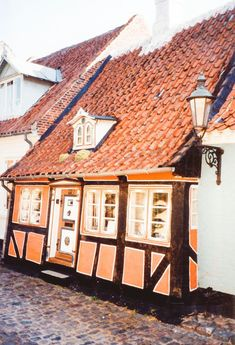 3) Ærøskøbing: Denmark's Fairy Tale town is located on the island of Ærø. Colourful beach houses and lots of cosy 18th century homes dotted along romantic alleys and a very welcoming local community make Ærøskøbing a fantastic island getaway and a perfect little break after spending a few days in Copenhagen.  Denmark Recipes Tenha mais Informações em nosso Site http://storelatina.com/denmark/recipes   #Дания #Danska #Dānija #Danemarca