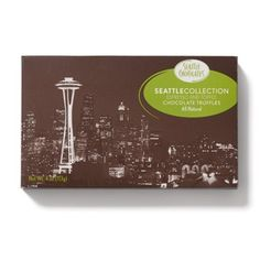 Skyline Chocolate Truffle Gift Box by Seattle Chocolates