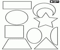 Ζωγραφιές Σύνολο των διαφόρων σχημάτων