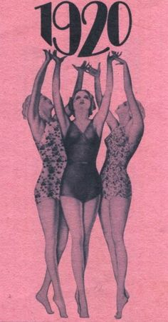 The Roaring 1920's vintage bathing suits swimsuits #ChicagoStyle