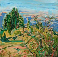 "Saatchi Art Artist Maryann Hendriks; Painting, ""Sunshine and Cedar"" #art"