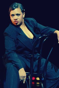 Chandra Wilson as Big Mama Thornton from Chicago on Broadway