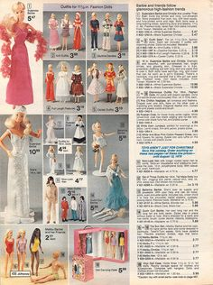 1977 JCPenney Christmas page 456 | Flickr - Photo Sharing!  Superstar Barbie--got her for Christmas!