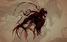 carnage by ChasingArtwork carnage is a symbiote from marvel comics spiderman