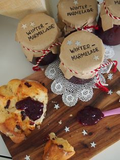 Winter Marmelade, Christmas Preparation, Pastry Shop, Macaron, Winter Food, Food Gifts, Diy Gifts, Confectionery, Diy Food