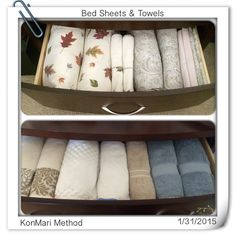 KonMari Method - Beddings & Towels