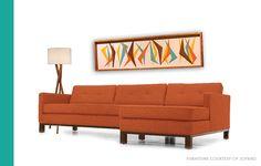 Mid Century / Danish Modern / TIKI / WITCO Styled Boomerang Wall Art