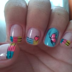 #Uñas #amolasmariposas #Coloreslocos #hermosas :D ;) http://decoraciondeunas.com.mx #moda, #fashion, #nails, #like, #uñas, #trend, #style, #nice, #chic, #girls, #nailart, #inspiration, #art, #pretty,...
