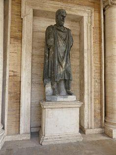 Dace marmo bigio Capitolini, comato by The Armatura Press, via Flickr