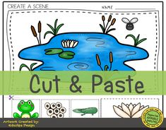 Frog Life Cycle Activity Sheets for Preschool Letter Sound Activities, Printable Activities For Kids, Preschool Themes, Preschool Printables, Color Activities, Preschool Learning, Pre Writing Practice, Lifecycle Of A Frog, Felt Board Stories