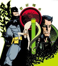 Batman Evolution by Dave Johnson