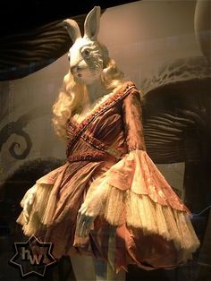 Alice in Wonderland @ Printemps (Paris, France) - Alexander McQueen's contribution to the display was STUNNING.