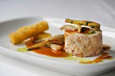 VVV's Coniglio- braised alabama rabbit, fried polenta, caramelized fennel,  braising jus