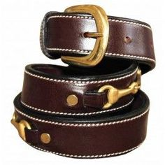 HDR Childrens Double Snaffle Belt