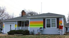 The House Across From Westboro Baptist Is Getting a Rainbow Pride Paint Job Right Now