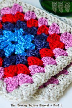 Crochet: Granny Square Blanket - PT 1 | Flickr - Photo Sharing!