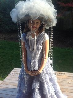 The Most Fabulous Rain Cloud Costume for a Girl... Coolest Homemade Costumes