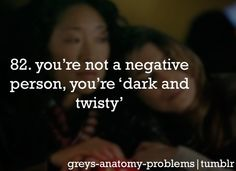 Greys Anatomy Problems....See i'm not a negative person...