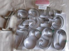 Curly Numbers Large Cutters