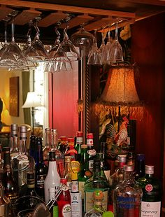 diy tips converting old tv armoire into home bar