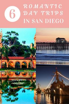 6 romantic day trips in San Diego! A great list full of ideas for couples who wa… 6 romantic day trips in San Diego! A great list full of ideas for couples who want to do anything from hiking to having a garden picnic. Romantic Vacations, Romantic Getaways, Romantic Travel, Romantic Escapes, Romantic Couples, Cool Places To Visit, Places To Travel, Travel Destinations, Usa Travel Guide