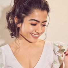 Rashmika Mandanna (born 5 April 1996) is an Indian film actress and model who works predominantly in Telugu and Kannada-language films. She is popularly dubbed by the media and Kannada film industry as the