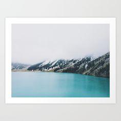 Turquoise water Art Print