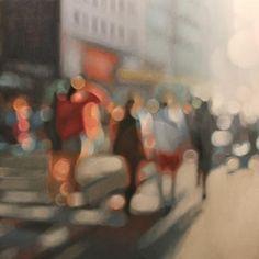 Philip Barlow, oil on canvas -Dusk II