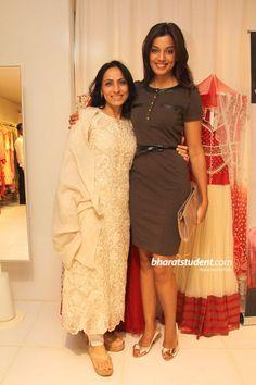 Krishna Mehta Flagship Store & Bridal Studio Launch, Krishna Mehta, Mugdha Godse