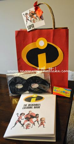 Incredibles Favor Bags