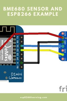 An electronic project showing how to connect a environment sensor to an and develop using the Arduino IDE Diy Electronics, Electronics Projects, Esp8266 Projects, Arduino Sensors, Mobile Application, Environment, Learning, Programming, Connect