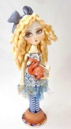 Clothes Pin Art Doll Tutorial  NEW Make your Own by DollProject, $45.00