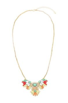 Wing My Neck Necklace by Eye Candy Los Angeles on @HauteLook