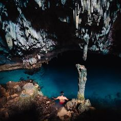 Our featured #natgeotravelphoto this month comes from @mrizag who took this enticing shot in the crystal-clear waters of a saltwater cave on Rangko Island East Nusa Tenggara Indonesia.  Want to see your image appear on our feed and website? Tag your shots with #NatGeoTravelPhoto and include contact information in your bio. Our editors are looking for the next great shot! by natgeotravel