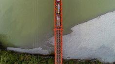 Taramakau Bridge, West Coast, New Zealand West Coast, New Zealand, Bridge, Vest, Legs, Attic, Bro