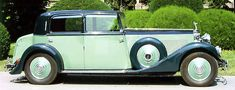 Rolls-Royce Phantom II Continental, 1933, #7MW, Arthur Mulliner Saloon