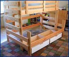 """""""Kids Bunk Beds - Your source for locally built bunk bed solutions from Vertical Bunk Bed"""""""