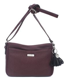Look what I found on #zulily! Jessica Simpson Collection Raisin Brynn Crossbody Bag by Jessica Simpson Collection #zulilyfinds