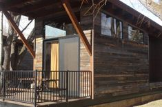 Wheelhaus builds the next generation of modular prefab cabins. Our Wheelhaus tiny homes are eco friendly modular luxury cabins on wheels. Prefab Modular Homes, Prefab Cabins, Tent Cot, Luxury Cabin, Tiny House Living, Outdoor Rooms, Tiny Houses, Spotlight, Small Spaces