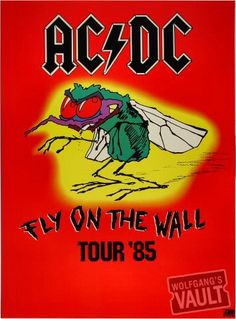 AC/DC I had this poster on my wall forever! Wish I still had it...
