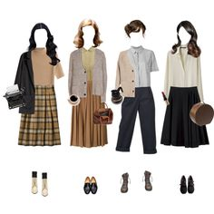 1940's Working Girls by silentmoonchild on Polyvore featuring Les Prairies de Paris, T By Alexander Wang, Theory, Isabel Marant, Étoile Isabel Marant, H&M, Kenzo, Louis Féraud, Dieppa Restrepo and Dr. Martens