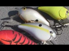 Bass Fishing Tackle - How to fish and where to fish crankbaits.