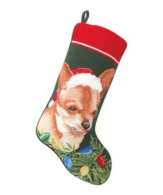 Take a look at this Chihuahua Stocking on zulily today!