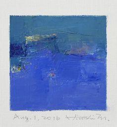 Aug. 1 2016 Original Abstract Oil Painting by hiroshimatsumoto