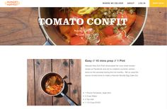 Avanti Cafe Musings: Tomato Confit :: Chef Mark Cleveland @ Hungry Harv...